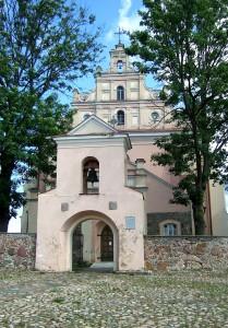 """merkines baznycia 209x300 """"Švč. Mergelės Marijos ėmimo į dangų"""" bažnyčia Merkinėje"""