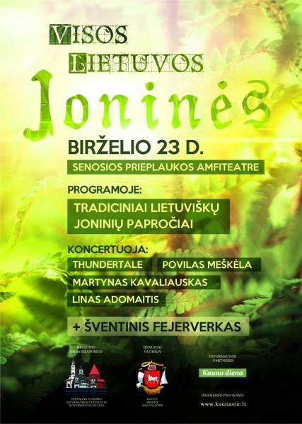 Joninės Kaune 2015